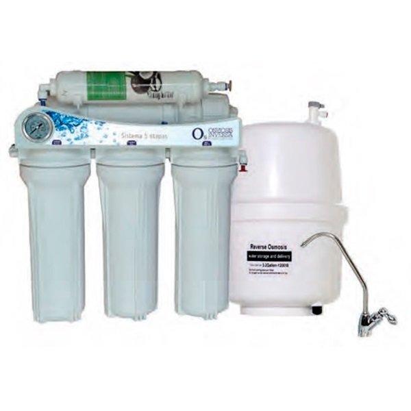 osmosis inversa o5 sin bomba 5 etapas