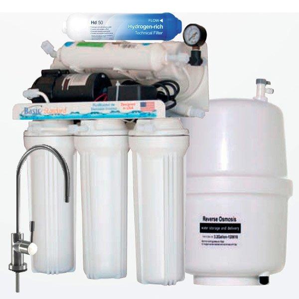 Osmosis Alcalina y Antioxidante con Bomba pH+
