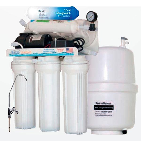 Osmosis Inversa con Bomba Antioxidante y Alcalina pH+