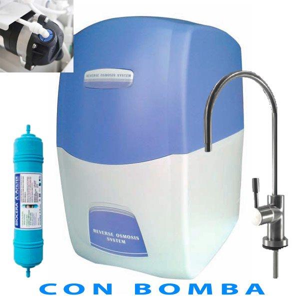 Osmosis alcalina PREMIUM COMPACT con bomba