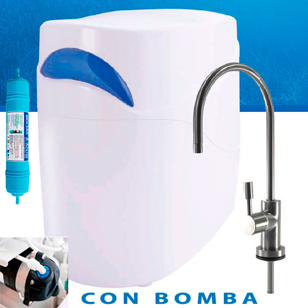 osmosis alcalina PREMIUM DELUXE con bomba